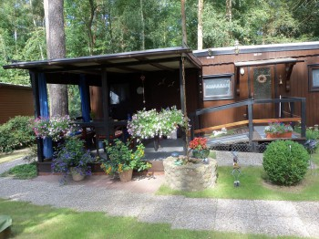 Ferienhaus, ganzjährig bewohnbar, barrierefrei, direkt am Klempowsee