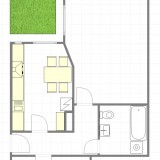 WG-Taugliche Erdgeschosswohnung mit Gartennutzung