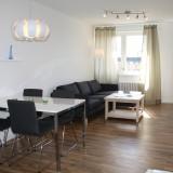 Am Berliner Hauptbahnhof: Möbliertes 1-Zimmer Apartment mit Balkon, Internet- und Telefon-Flatrate