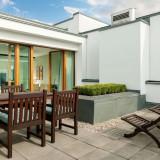 Penthouse-Wohnung mit Dachterrasse und Wintergarten in Berlin-Mitte