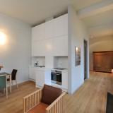 Einzigartiges Loft-Apartment in ruhigem Gartenhaus